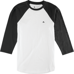 Stimulous Raglan - BLACK/WHITE - hi-res
