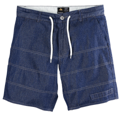 GUILLEN SHORT - DENIM/HEATHER - hi-res