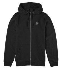 Hard Luck Zip Hood - BLACK - hi-res