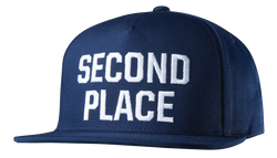 Second Place Snapback - BLUE - hi-res