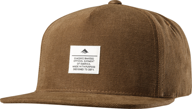 Standard Issue Snapback - BROWN - hi-res