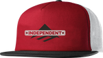 INDY TRUCKER HAT - RED/BLACK - hi-res
