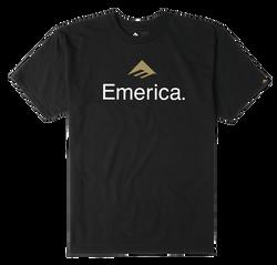 Emerica Skateboard Logo - BLACK - hi-res
