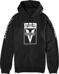 Emerica X Venture PO Fleece - BLACK - hi-res