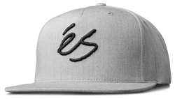 SCRIPT SNAPBACK - GREY/HEATHER - hi-res
