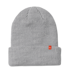 BLOCK BEANIE - GREY/HEATHER - hi-res
