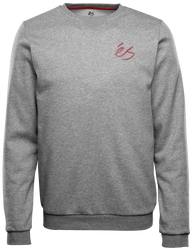 SCRIPT CREW FLEECE - GREY/HEATHER - hi-res