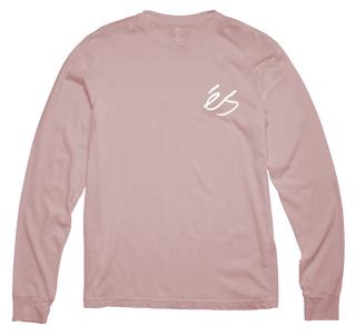 SCRIPT LONG SLEEVE - PINK - hi-res