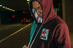 DGK ZIP HOODY - BLACK - hi-res