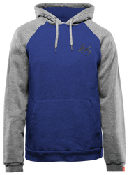SCRIPT PULLOVER - BLUE/HEATHER - hi-res
