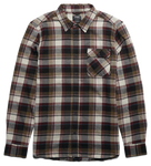 AXEL L/S FLANNEL - NATURAL - hi-res | Etnies
