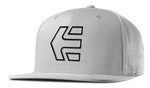 ICON 7 SNAPBACK HAT - LIGHT GREY - hi-res | Etnies