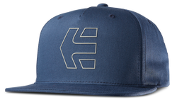 Icon 7 Snapback Hat - NAVY/GREY - hi-res | Etnies