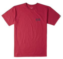 SPOOL TEE - RED - hi-res | Etnies