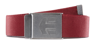 STAPLEZ BELT - BURGUNDY - hi-res | Etnies