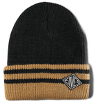 DRIFTER BEANIE - BLACK/YELLOW - hi-res | Etnies