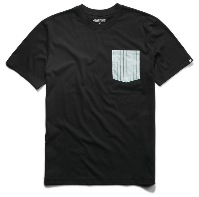 Service Pocket Tee - BLACK - hi-res | Etnies