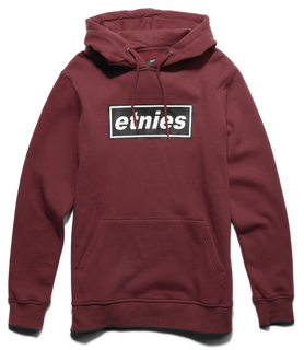 STAPLE PULLOVER - BURGUNDY - hi-res | Etnies