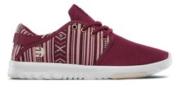 SCOUT WOMENS - BURGUNDY/TAN - hi-res | Etnies
