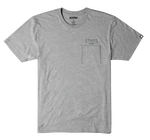 Team Runner Pocket Tee - GREY/HEATHER - hi-res | Etnies