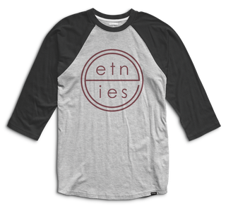 UNITED RAGLAN - BLACK/HEATHER - hi-res | Etnies