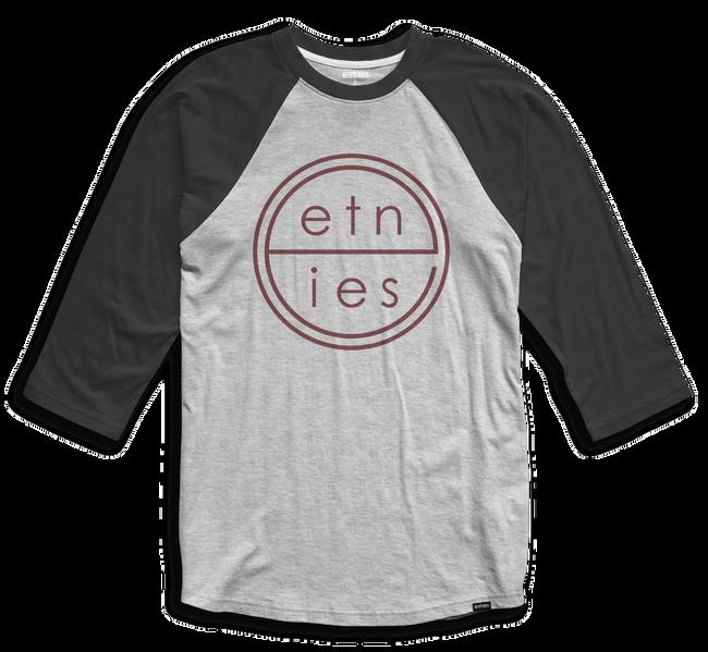 UNITED RAGLAN - BLACK/HEATHER - hi-res | Etnies