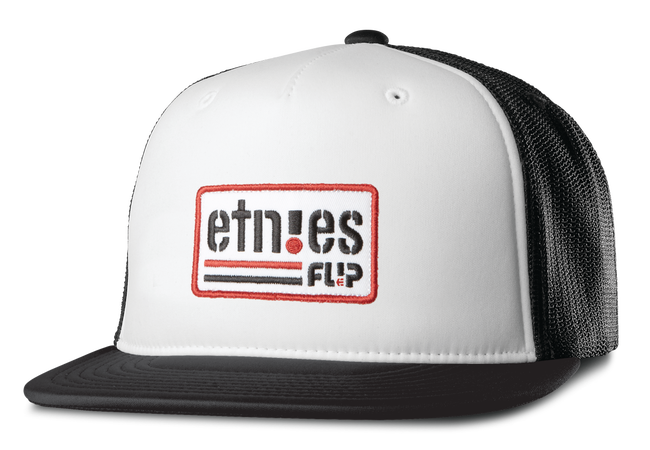 FLIP SIDE TRUCKER - BLACK/WHITE - hi-res | Etnies