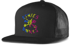 etnies x Bones Cut Color Trucker - BLACK - hi-res | Etnies