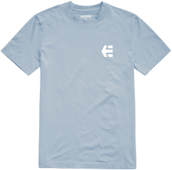 SCRIPTY SHORT SLEEVE - LIGHT BLUE - hi-res | Etnies