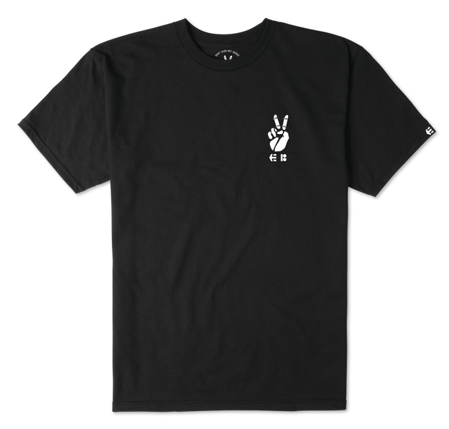 YARN BOMB TEE - BLACK - hi-res | Etnies