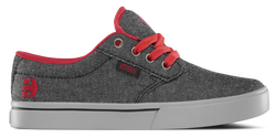 Jameson 2 Eco Kids - BLACK/GREY/RED - hi-res | Etnies