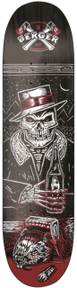 FLIP SKATEBOARD DECK - BLACK/RED - hi-res | Etnies