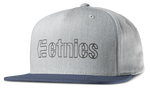 CORPORATE 5 SNAPBACK HAT - GREY/BLUE - hi-res | Etnies