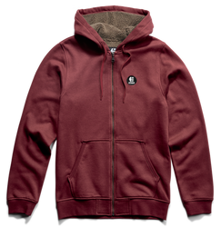 E-Base Zip Sherpa - BURGUNDY - hi-res | Etnies