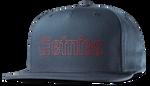 CORPORATE 5 SNAPBACK HAT - NAVY/RED - hi-res | Etnies