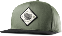 Woodskeeper Snapback - BLACK - hi-res