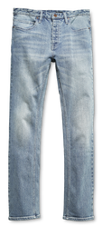 E2 Straight Denim - LIGHT VINTAGE WASH - hi-res