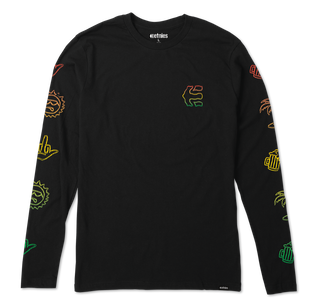 GOOD TIMES L/S - BLACK - hi-res | Etnies