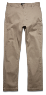 ESSENTIAL STRAIGHT CHINO - KHAKI - hi-res | Etnies