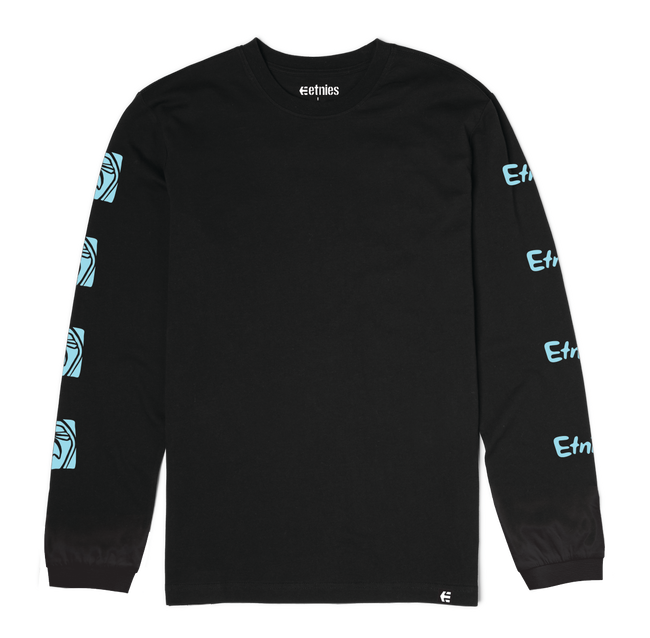 FLOWER SHOT LS - BLACK - hi-res | Etnies