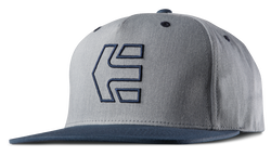 Icon 7 Snapback Hat - BLUE/HEATHER - hi-res | Etnies