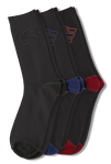 Legacy 3 Pack Socks - BLACK - hi-res | Etnies