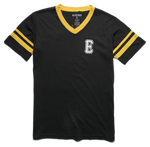 END GAME JERSEY - BLACK/YELLOW - hi-res | Etnies