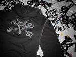 etnies x Bones Splatter Zip - BLACK - hi-res | Etnies