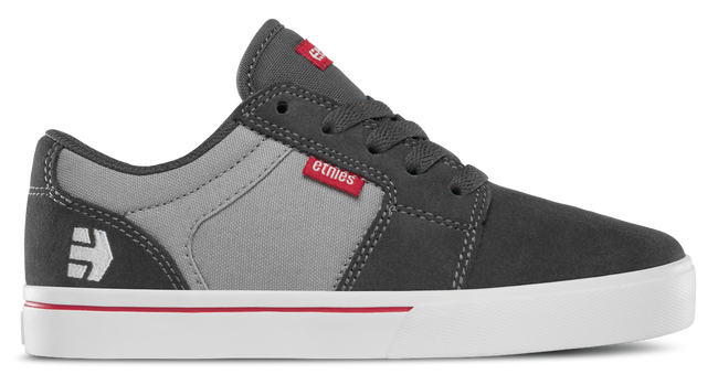 BARGE LS KIDS - DARK GREY/GREY/RED - hi-res | Etnies