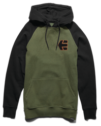 BREAKERS PULLOVER - OLIVE/BLACK - hi-res | Etnies