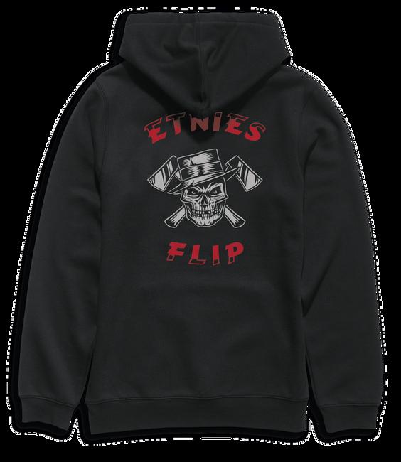 BEWARE FLIP PULLOVER - BLACK - hi-res | Etnies