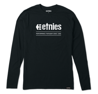 ALTERS L/S - BLACK - hi-res | Etnies