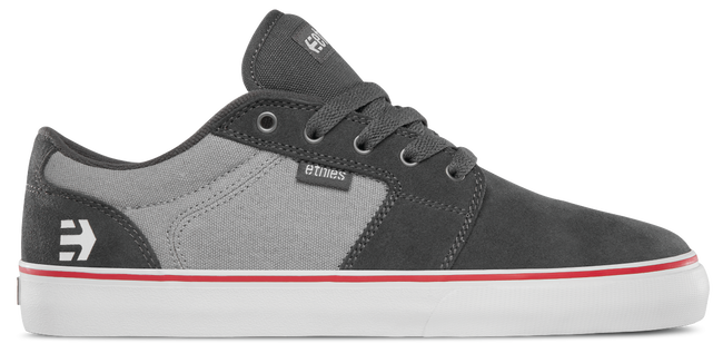 BARGE LS - DARK GREY/GREY/RED - hi-res | Etnies