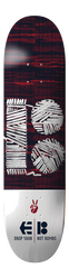 etnies x Plan B Skateboard Deck - RED/WHITE - hi-res | Etnies